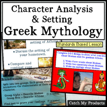 Character Traits and Setting in Greek Mythology for Promet