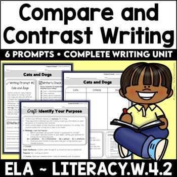 Compare & Contrast Informative Writing Unit