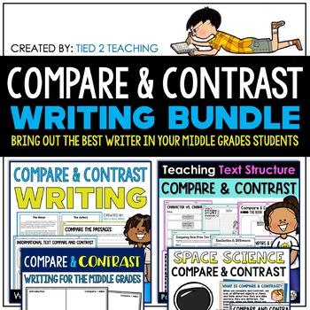 Compare & Contrast Writing Bundle