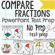 Compare Fractions PowerPoint Test Prep