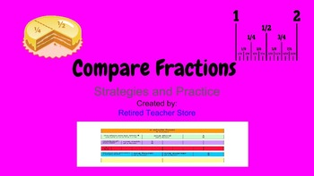 Compare Fractions - Strategies and Practice