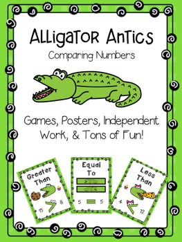 Compare Numbers With Alligator Antics