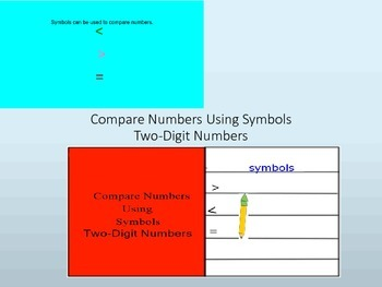 Compare Two-Digit Numbers Interactive Lesson