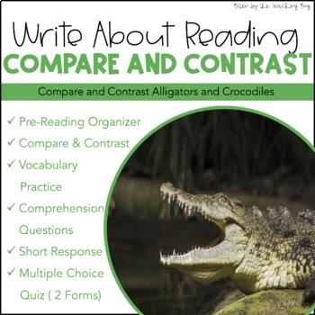 Text Based Writing: Alligators and Crocodiles