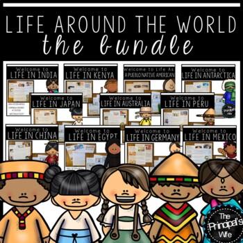 Cultural Diversity:  Children of the World Bundle