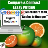 Compare and Contrast Essay Writing Paperless Google Digita