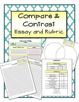 Step Up to Writing - Writing Activity Compare and Contrast