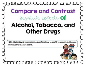 Compare and Contrast Health Lesson