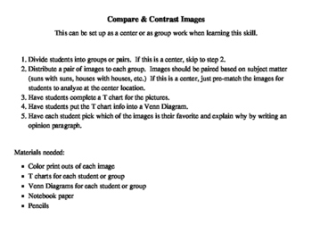 Compare and Contrast Images