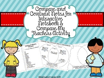 Compare and Contrast Interactive Notes & Compare My Teache