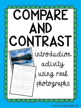 Compare and Contrast - Introduction activity using real ph