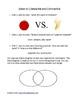 Compare and Contrast Lesson Plan using Venn Diagram