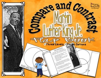 Compare and Contrast Martin Luther King Jr.