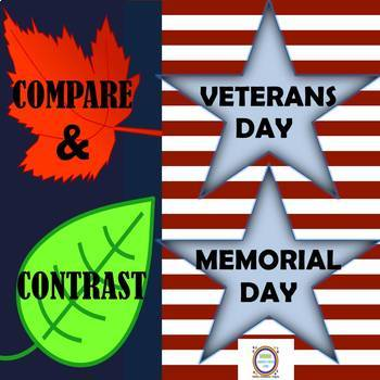 Compare and Contrast Memorial Day and Veterans Day Fascina