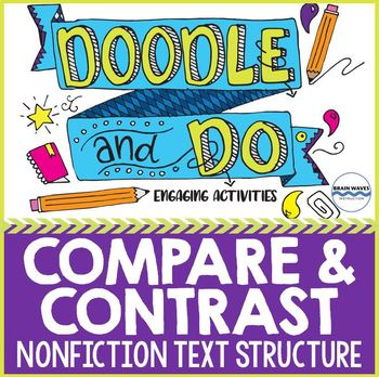 Compare and Contrast - Nonfiction Text Structure - Sketch