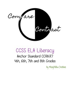 Compare and Contrast Organizer & Writing Guide
