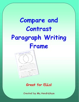 compare and contrast essay writing frame Throughout your academic career, you'll be asked to write papers in which you compare and contrast two things: two texts, two theories, two historical figures, two scientific processes, and so on.