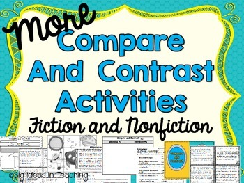 Compare and Contrast Small Group Activities