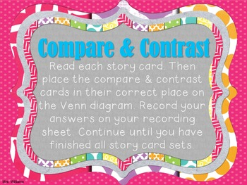 Compare and Contrast Sort