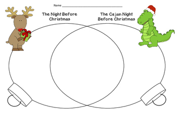 Compare and Contrast-  'Twas the Night Before Christmas