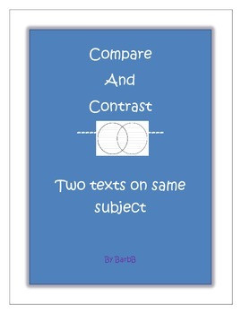 Compare and Contrast Two Different Text