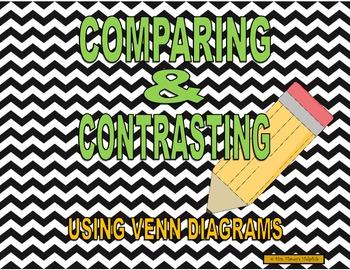 Compare and Contrast - Venn Diagram Set