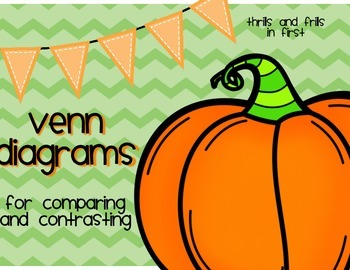 Compare and Contrast Venn Diagrams with Pumpkins