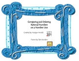 Compare and Order Rational Numbers on a Number Line