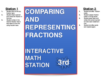 Compare and Represent Fractions