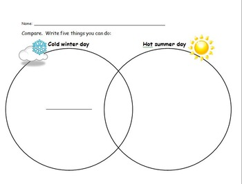 Compare and contrast venn diagram Storytown Lesson 7