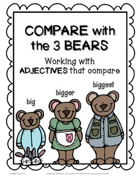 Compare with the 3 Bears