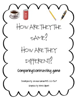 Compare/Contrast Board game!