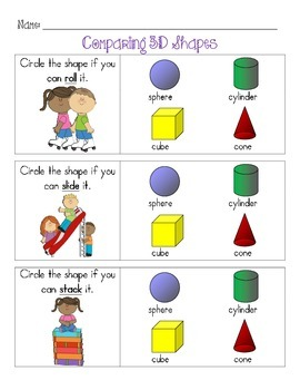 Comparing 3D Shapes