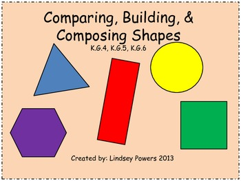 Comparing, Building, and Composing Shapes