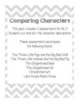 Comparing Characters 1.RL.9