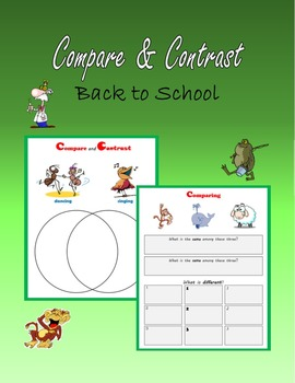 Comparing & Contrasting – Back to School
