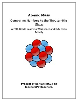 Comparing Decimal Numbers using Atomic Mass