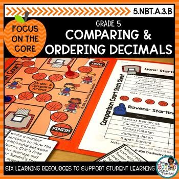 Comparing Decimals: Math Learning Bundle