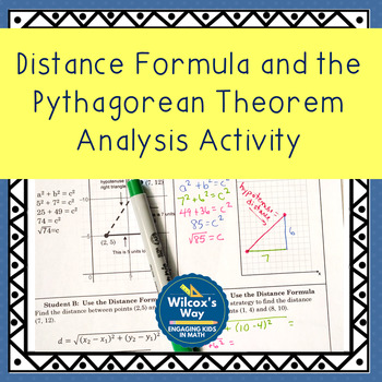 Comparing Distance Formula and the Pythagorean Theorem Ana