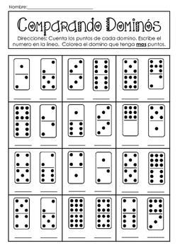 Comparing Dominos in Spanish