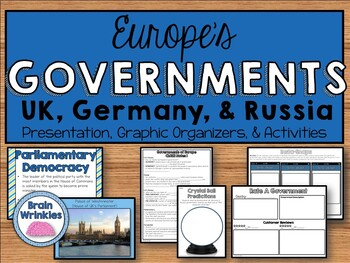 European Governments: UK, Germany, and Russia (SS6CG5)