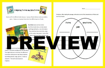 Comparing Fiction and NonFiction: Reading Passage and Genr