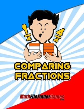 Comparing Fractions {Math Game}