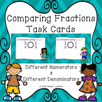 Comparing Fractions with Different Numerators and Denomina
