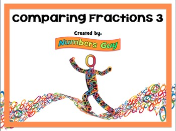 Comparing Fractions 3 (Part of Fractions Unit)