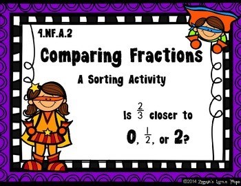 Comparing Fractions {A Sorting Activity}