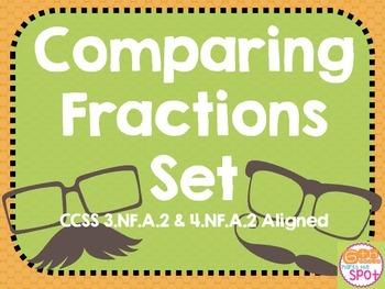 Comparing Fractions & Equivalent Fractions Moustache Editi