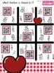Comparing Fractions Heart-Themed QR Code Math Center FREEBIE