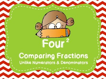 Comparing Fractions Unlike Denominators & Numerators