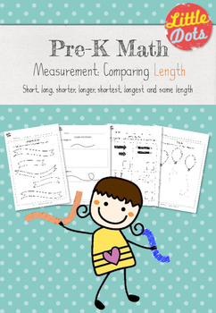 Pre-K Math: Comparing Length Worksheet